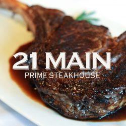 21 Main Prime Steakhouse