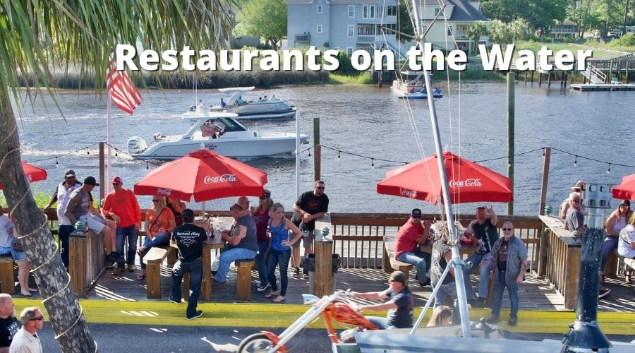 restaurants on the water